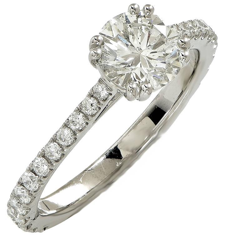 1.53 Carat GIA Diamond Engagement Ring