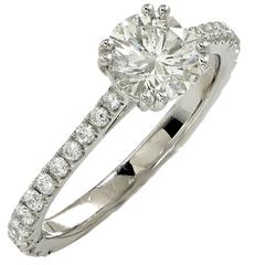 1.53 Carat GIA Diamond Engagement Ring