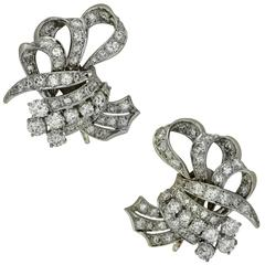 5 Carat Diamond Earrings