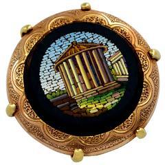 Spectacular Micro Mosaic Ring