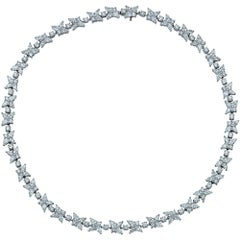 Tiffany & Co. Victoria 25.50 Carat Mixed Cluster Diamond Necklace