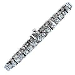 4 Carat Diamond Tennis Bracelet