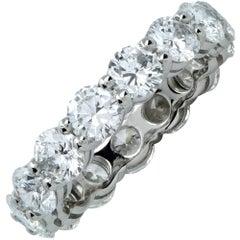 4.27 Carat Diamond Wedding Eternity Band