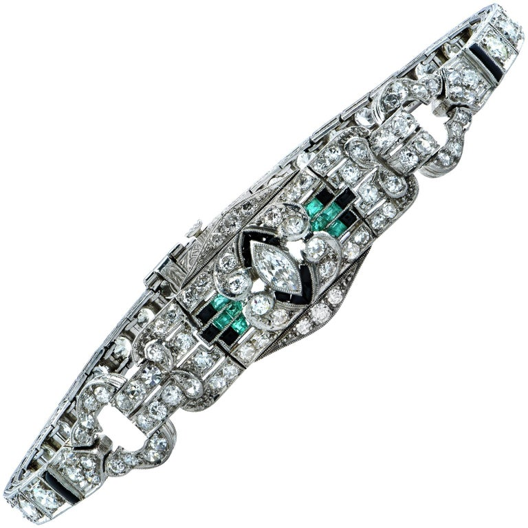 pinterest deco diamond cartier art pin platinum bracelet