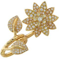 Van Cleef & Arpels Lotus Flower Ring