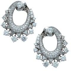 13 Carat Diamond Earrings