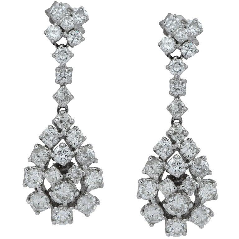 3 Carat Diamond Earrings For