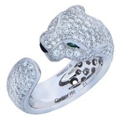 Panthere de Cartier Diamond Ring