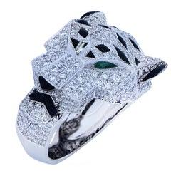 Panthere de Cartier Diamond Ring