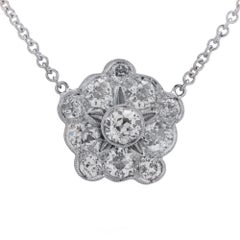 2 Carat Diamond Necklace