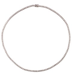 7.15 Carat Diamond Necklace