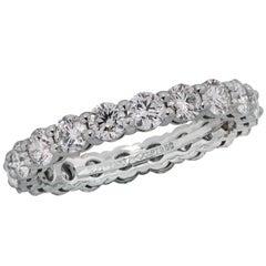 Tiffany & Co. 1.60 Carat Diamond Eternity Band