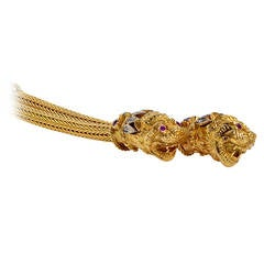 Ilias Lalaounis Gold Braided Necklace