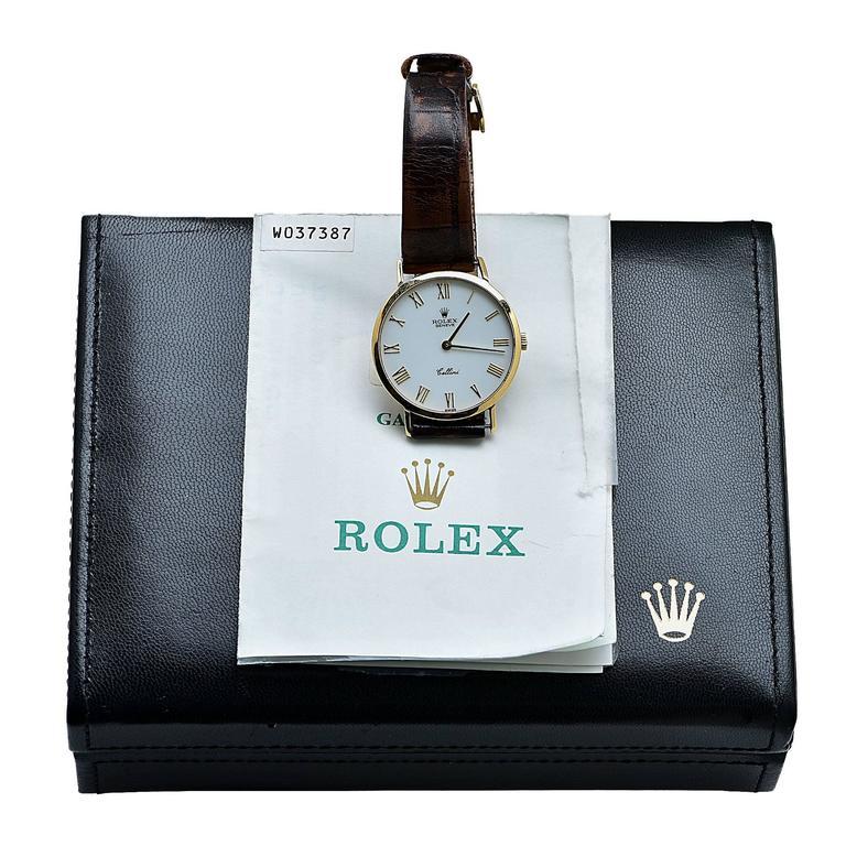 Rolex Yellow Gold Cellini Classic Wristwatch 2