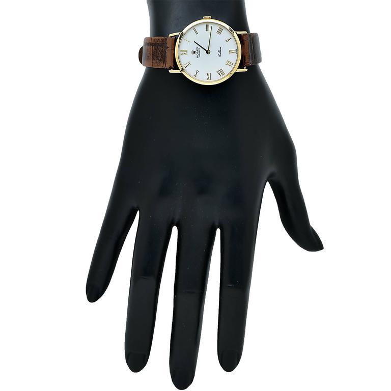 Rolex Yellow Gold Cellini Classic Wristwatch 3