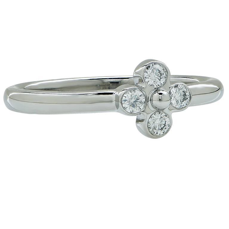 Tiffany & Co. Diamond Ring In Excellent Condition For Sale In Miami, FL