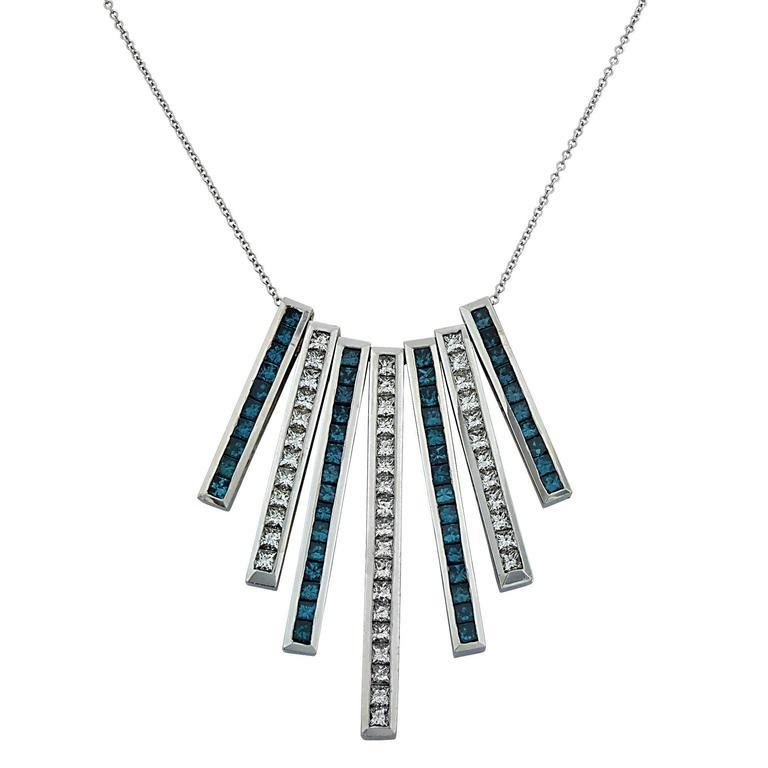 7 70 carat diamond drop necklace at 1stdibs
