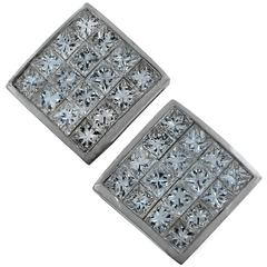 3.20 Carat Diamond Stud Earrings