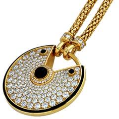 Amulette De Cartier Necklace Large Model