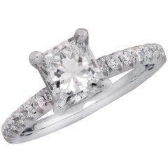 GIA Certified 1.07 Carat Diamond Engagement Ring