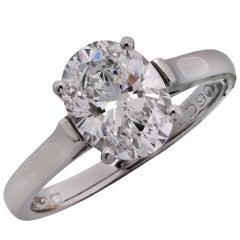 Tiffany & Co. 2.06 Carat Diamond Engagement Ring