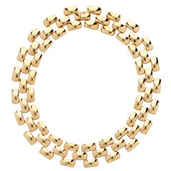Italian 18 Karat Yellow Gold Necklace