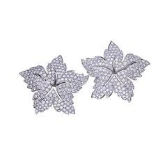 15.10 Carat Diamond Star Earrings