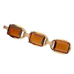 5.00 Carat Diamond Quartz Bracelet