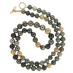 Multicolor South Sea Pearl Necklace
