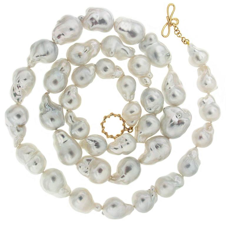 Valentin Magro South Sea Baroque Pearl Necklace