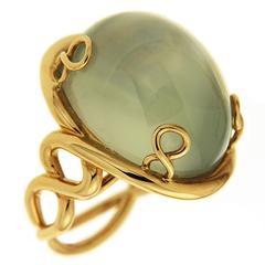 Valentin Magro Oval Mango Moonstone Cabochon Ring