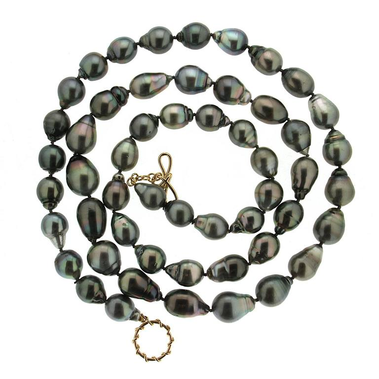 Valentin Magro Baroque Tahitian Pearl Necklace