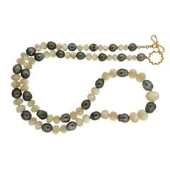 Valentin Magro Tahitian Pearl and Mother-of-Pearl Necklace