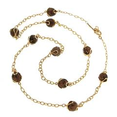 Carina Smoky Topaz Necklace