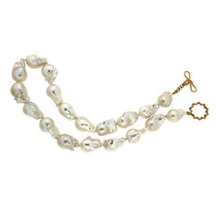 Valentin Magro Fresh Water Baroque Pearl Necklace