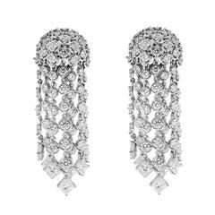 Valentin Magro Diamond Cascading Waterfall Earrings