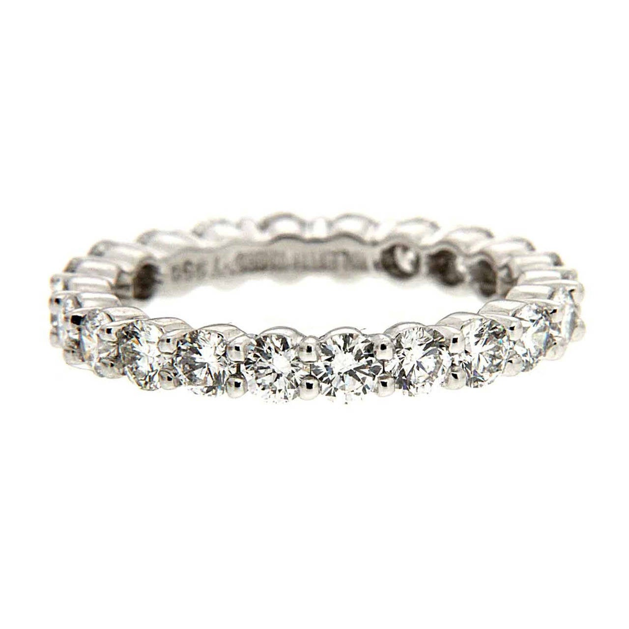 Valentin Magro 2.20 Carat Diamond Platinum Eternity Band Ring