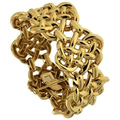 Valentin Magro Mariners Knot Yellow Gold Bracelet