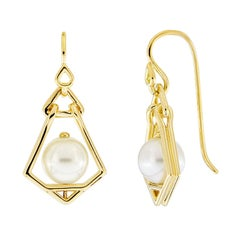 Valentin Magro Geometric Lantern Small Earrings
