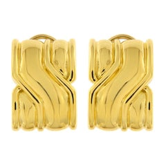 On The Town Gold Earrings