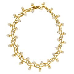 Valentin Magro Fountain of Dazzle Pearl Necklace