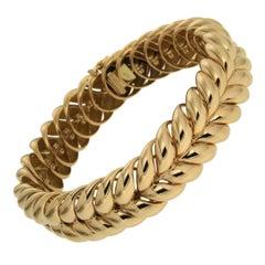 Bespoke Valentin Magro Gold Rope Bracelet