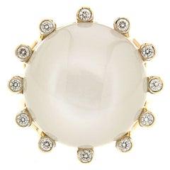 Valentin Magro La Luna Moonstone Gold Ring