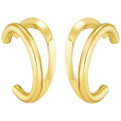 18 Karat Gold Vermeil Fusion Earrings