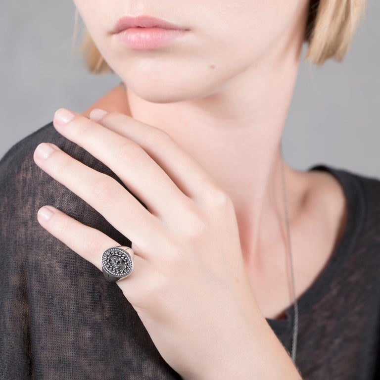 Iosselliani Black Diamond Pave