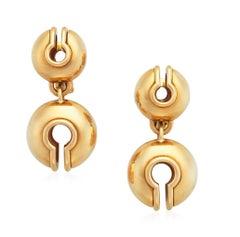 Marina B. 'Campanelli' Gold Earrings