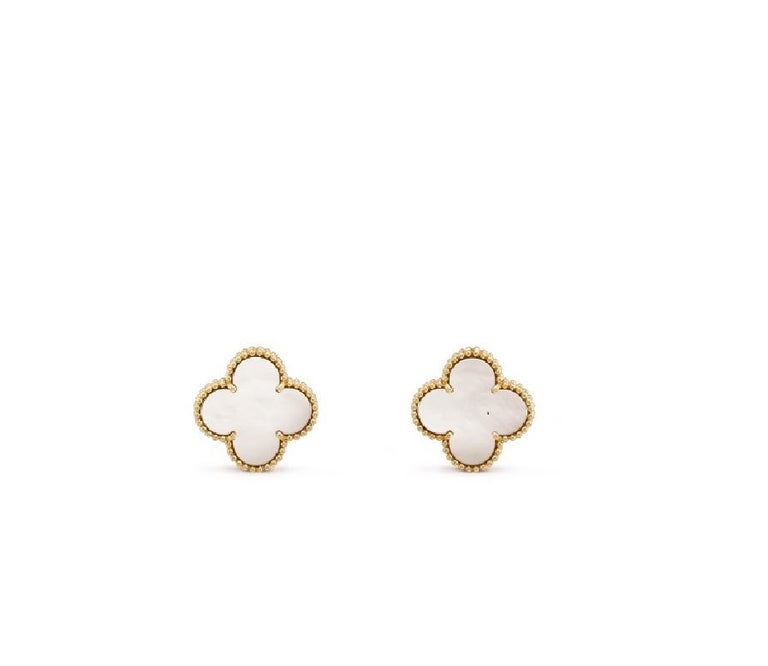 Van Cleef & Arpels Magic Alhambra Earrings  In Excellent Condition For Sale In Chicago, IL