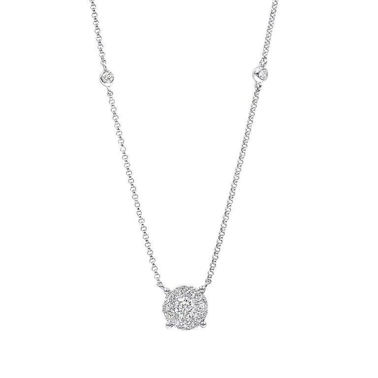 0.67 Carat Diamond Necklace