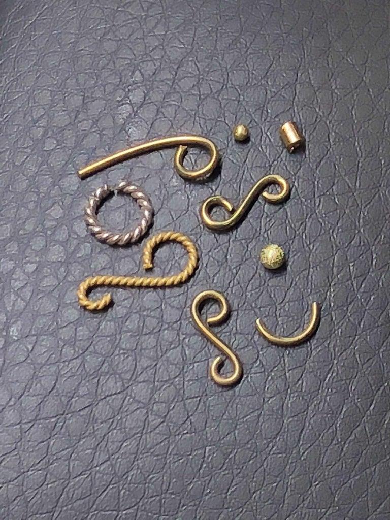 Georgios Collections Ring aus 18 Karat Gelbgold mit Diamanten und schwarzem Rhodium 8
