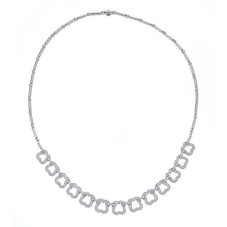 Diamond 18 Karat Gold Necklace